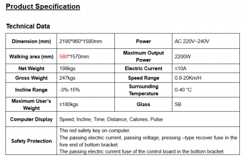 Product Specification G9